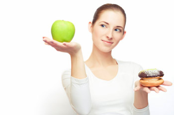 A healthy diet can help you fight acne